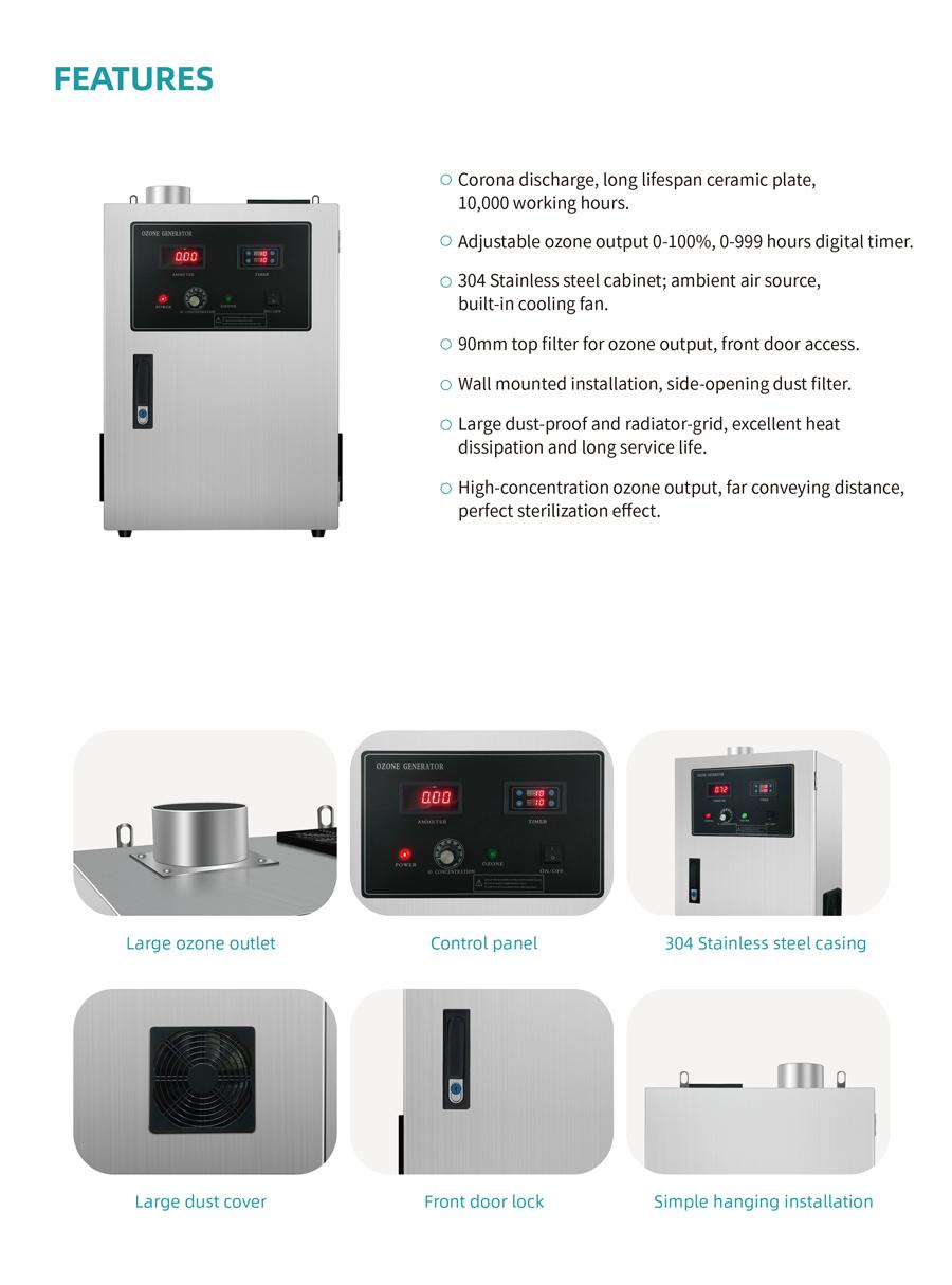 DINO-Kitchen Ventilation Ozone Generator_04