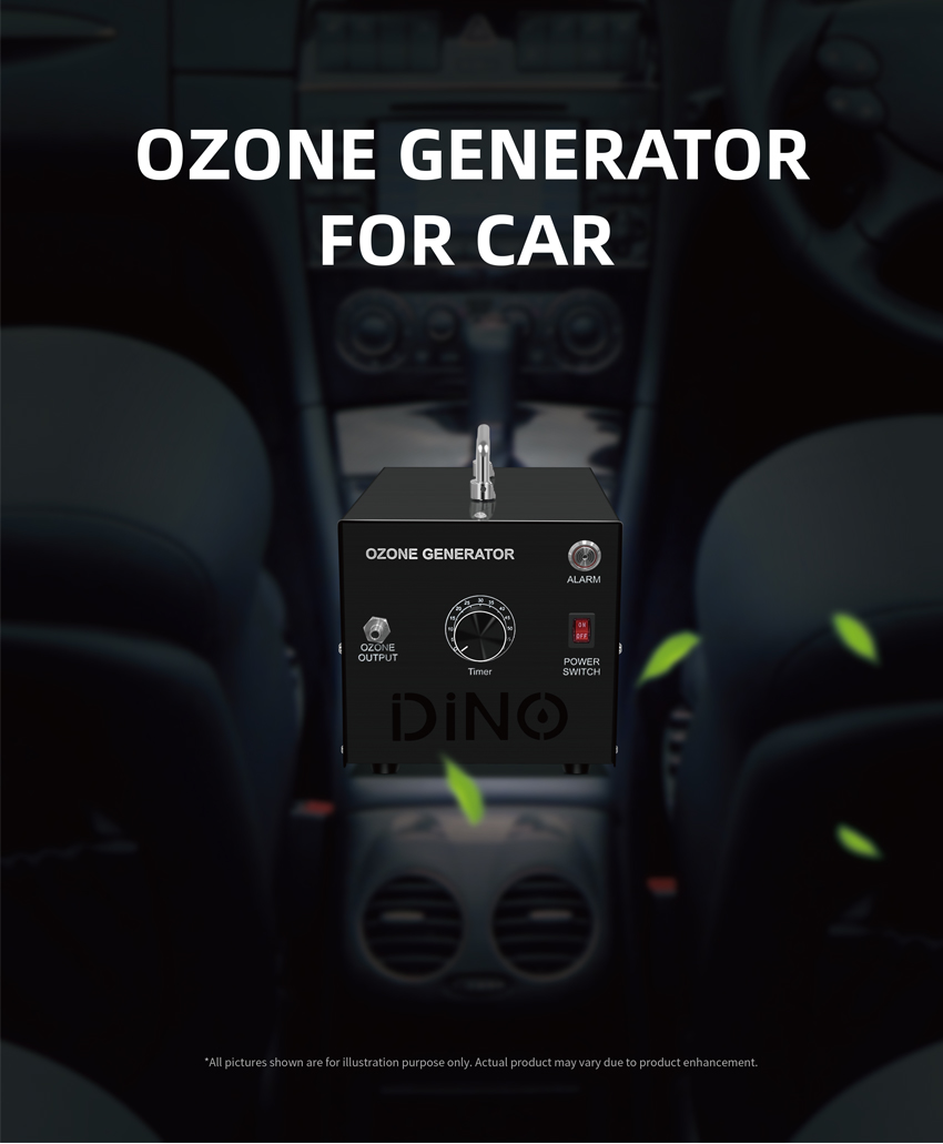 Dino Purification Ozone Generator For Car _01