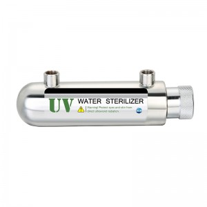 Residential drinking water disinfection LED UV sterilizer